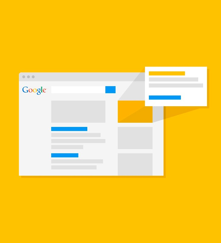 crearemos tus avisos para aparecer en Google.