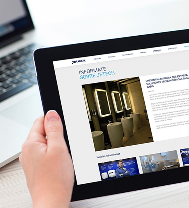 Creación de diseño sitios web empresa plus